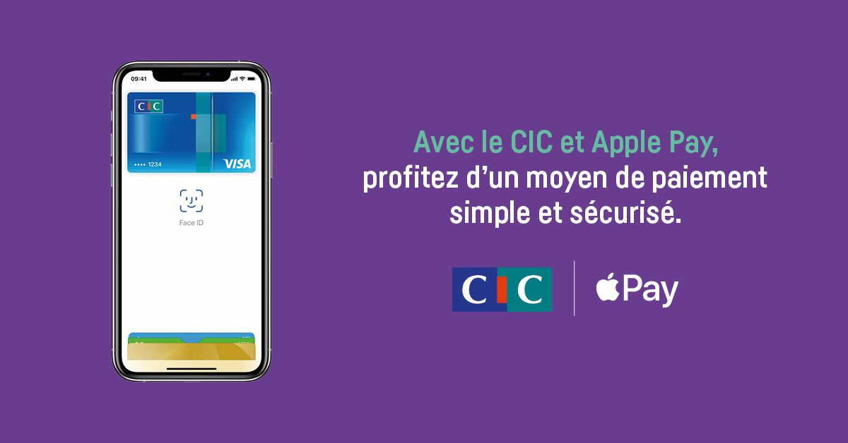 cic crédit mutuel apple pay