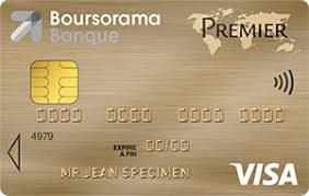 visa premier boursorama banque